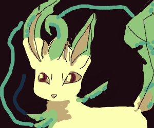 Leafeon crossing into another dimension
