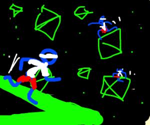 Asteroids runnin'