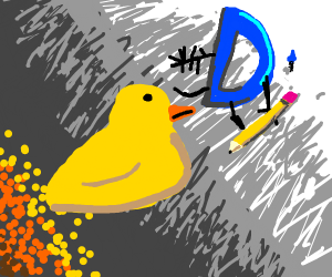 Drawception verses ducks