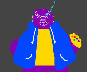 overpowered thanos sans thing