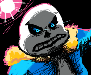 Sans is mad