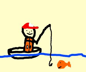 fisherman fishing