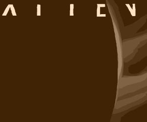 """HR Giger's """"Alien"""" movie poster"""