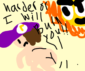 Waluigi Obeying The Sun