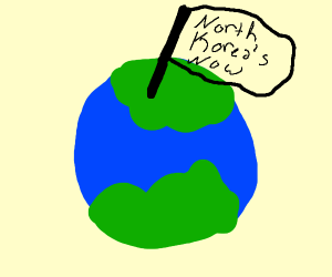North korea takes over the world