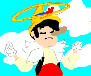 Pinocio died and going to heaven uwu