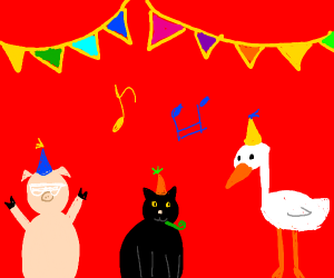 Animal party!!