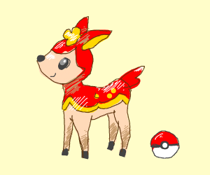 pokemon deer
