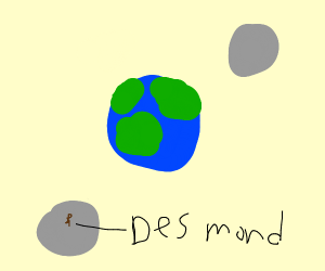 earth with two moons