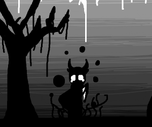 depressed demon