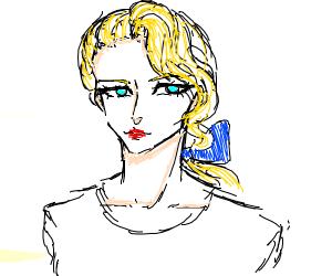 a girl PIO