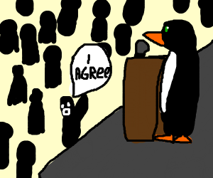 Someone agree with the penguin