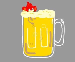 Pansear Beer (PokEmon)