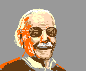 Stan Lee smiling PIO