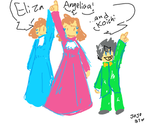 Angelica, Eliza and (insert character)
