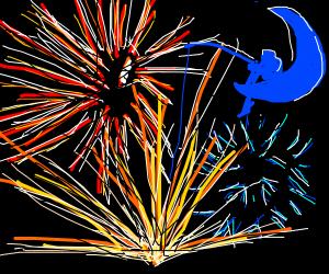 Dreamworks Fireworks