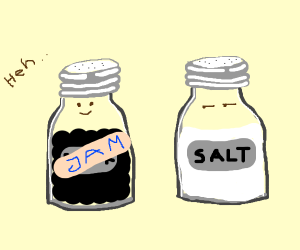pepper shaker pranks salt with wrong label