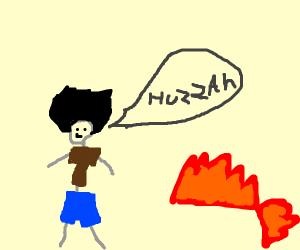 guy fire bending