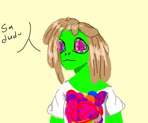 A Hippie Alien
