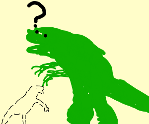 T-Rex Can't Find Invisible Dinosaur
