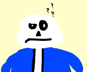 confused skeleton