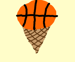 basketball ice cream