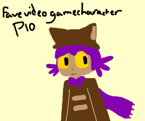 Favorite video game character pio