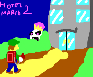 Hotel mario 2: Ghost hotel