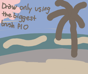 Draw only using the biggest brush PIO