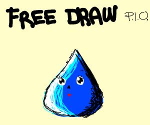 Free draw P.I.O (pass it on!)
