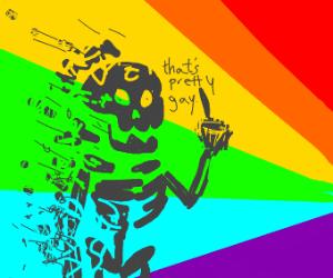 homophobe died