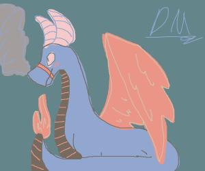 aesthetically pleasing dragon