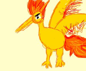 Moltres the Phoenix Pokémon