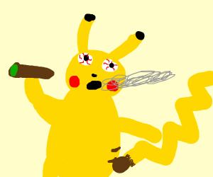 pikachu pot