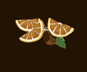 Cinnamon and orange