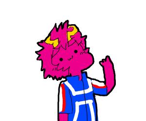 Pink haired weirdo