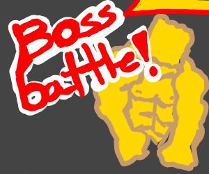 Spongebob boss battle
