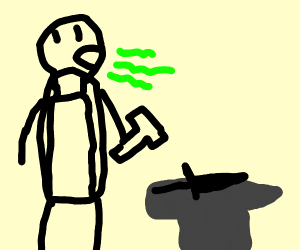 Blacksmith Burping