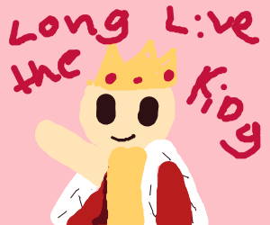 Long live the king but chibi