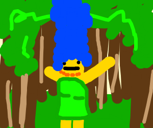 Marge in the Forest