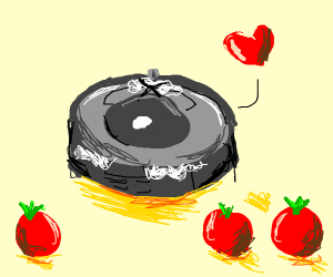 Robot Maid Loves Tomatoes