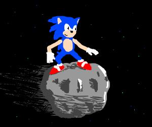 Sonic rides meteor