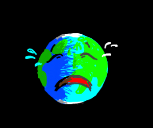 sad earth