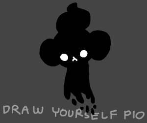 draw yourself, remember to pass it on!