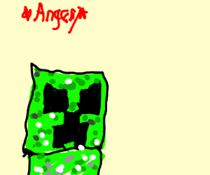 Either Shrek or a Minecraft Creeper Is Angry