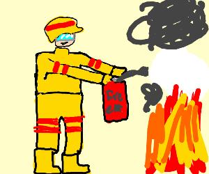 Fireman on duty