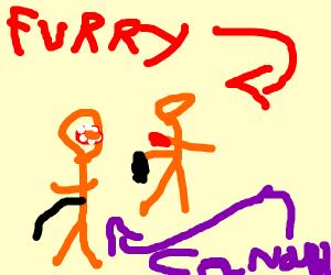 Furry canibalism