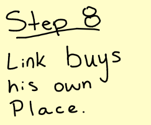 step 7: link gets kicked out