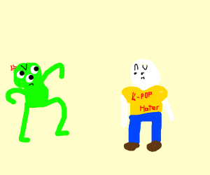 Alien hates Kpop haters