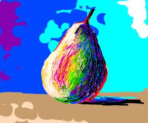 a pear..... yeah